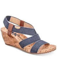 Image of Anne Klein Sport Cabrini Wedge Sandals