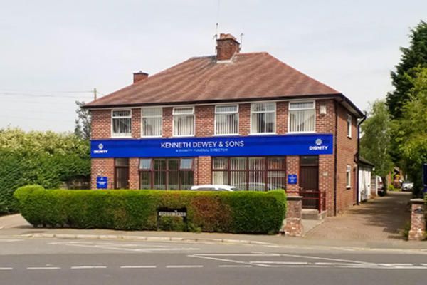 Kenneth Dewey & Sons Funeral Directors in Timperley Village, Altrincham.