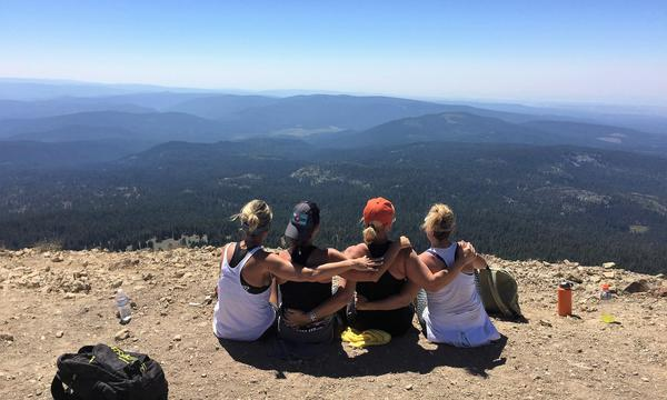 Top of Lassen National Park