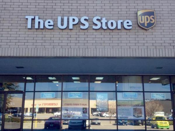 Facade of The UPS Store Fayetteville
