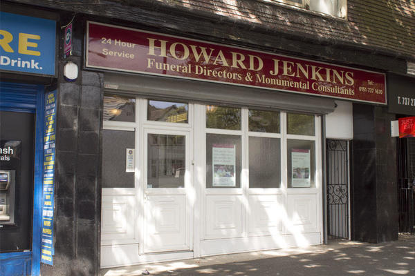 Howard Jenkins Funeral Directors in Fiveways, Liverpool