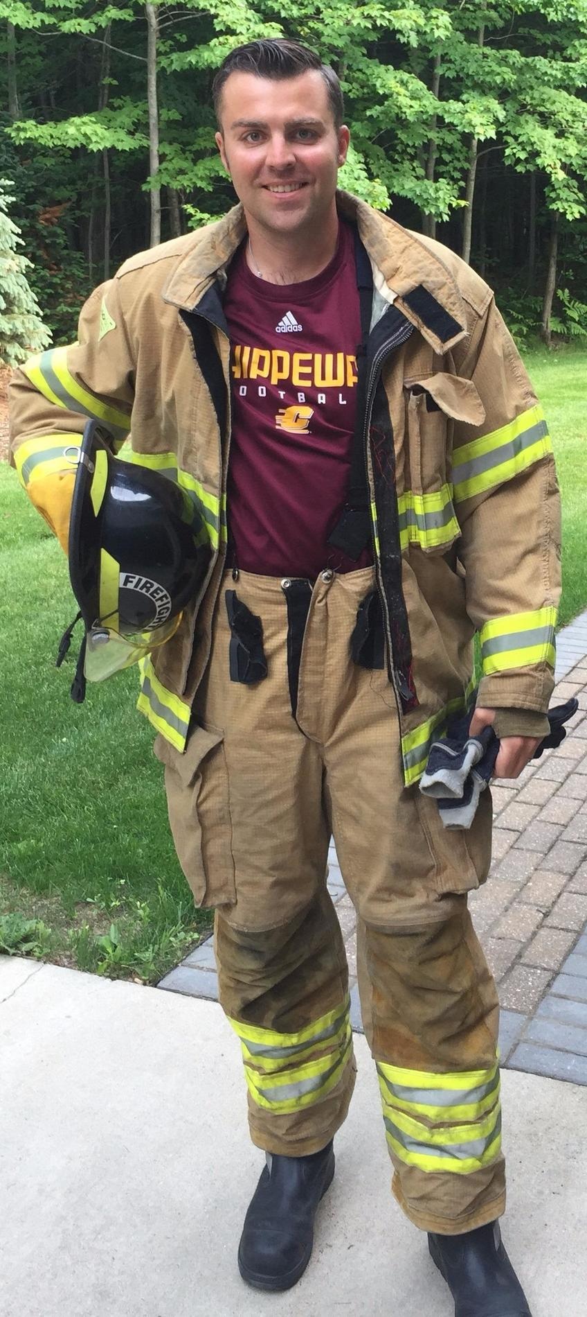 Michael Love - Volunteer Firefighter
