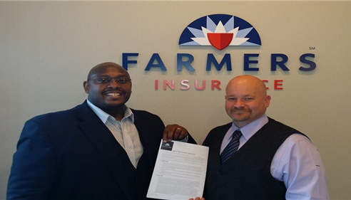 My first contract with Farmers®.