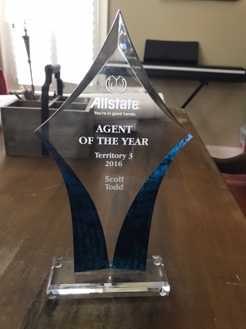 Scott H. Todd - Awarded Agent of the Year