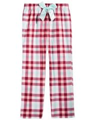 Image of Max & Olivia Plaid Sleep Pants, Little Girls (4-6X) & Big Girls (7-16), Created for Macy's