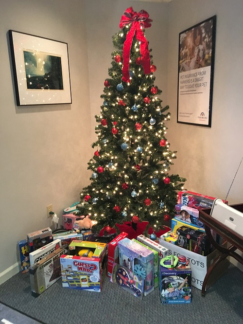 Toys for Tots - We are a drop off location!