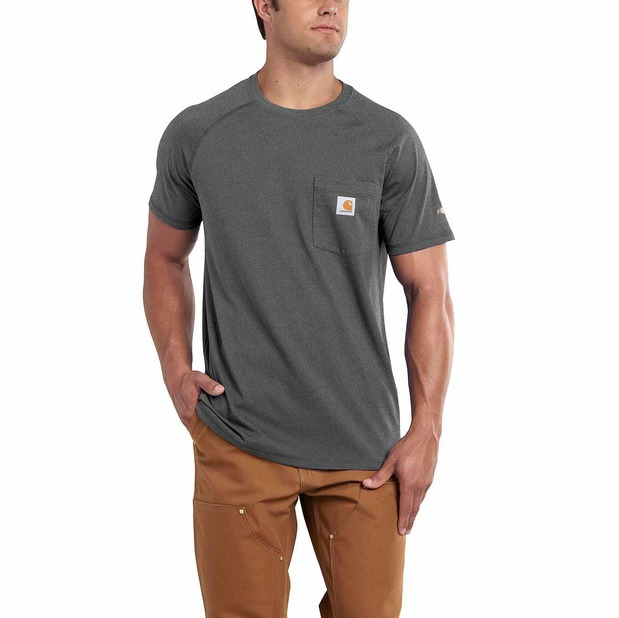 Image of FORCE® COTTON DELMONT SHORT-SLEEVE T-SHIRT