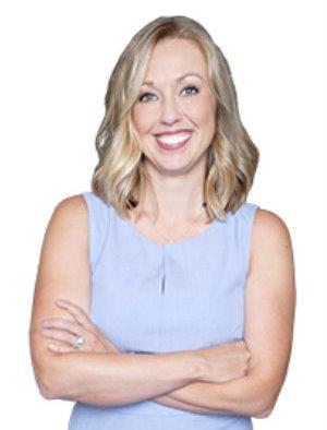 female realtor agent headshot