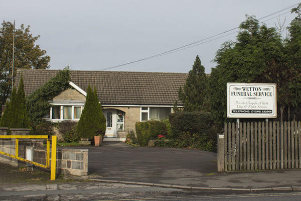 Wetton Funeral Directors in Brimington, Chesterfield