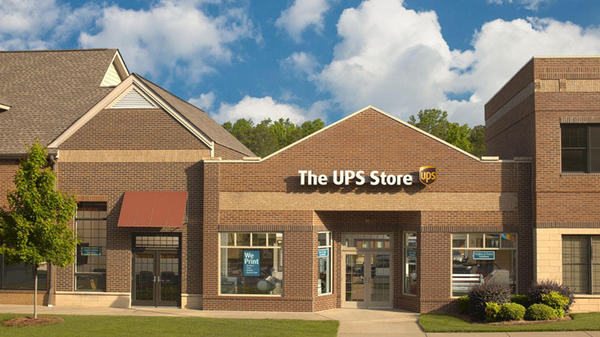 The exterior of The UPS Store