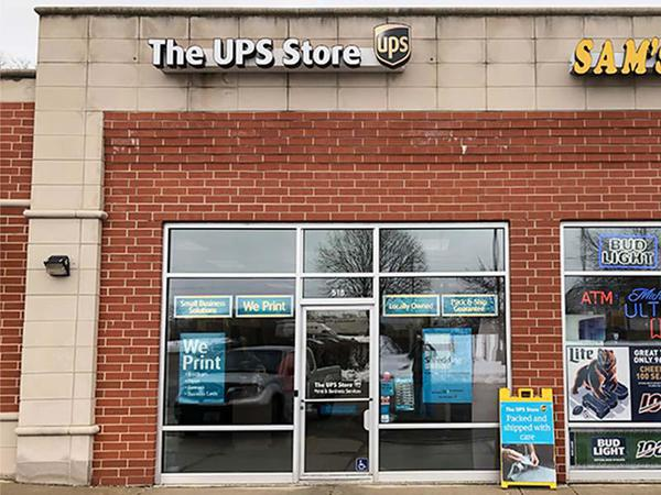 Storefront photo of The UPS Store #4064 in McHenry, IL