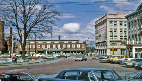 Old Sears and Roebuck store downtown Painesville   circa 1960's
