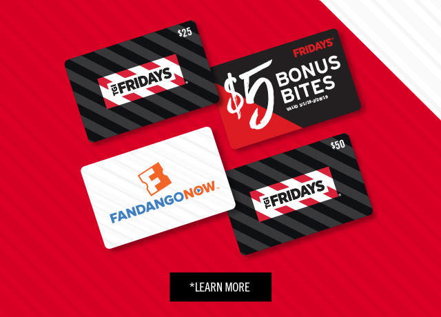TGI Fridays Events Promo