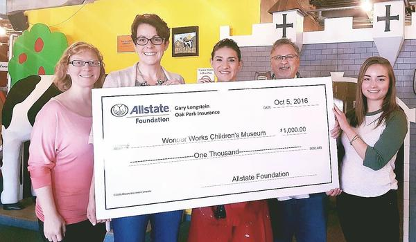 Gary Longstein - Wonder Works Receives Allstate Foundation Helping Hands Grant