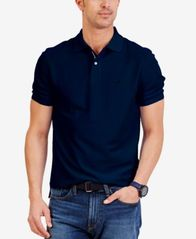 Image of Nautica Men's Classic Fit Performance Deck Polo Shirt