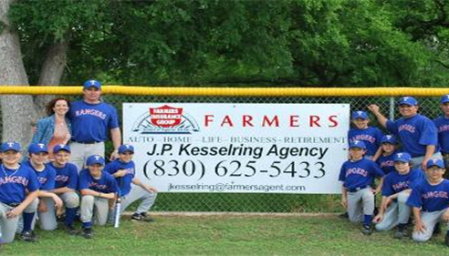 Youth Baseball Coach and Sponsor