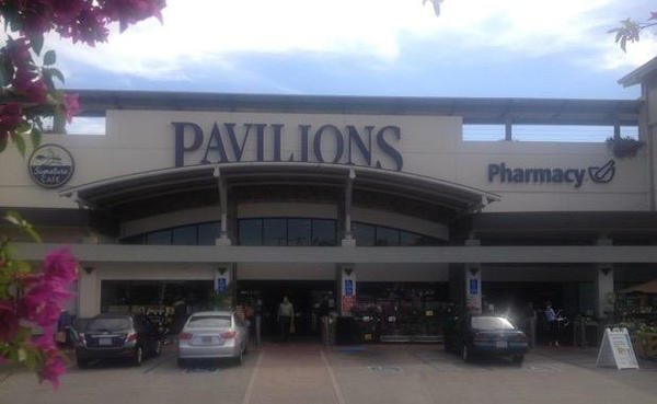 Pavilions store front picture