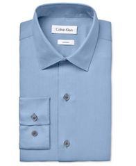 Image of Calvin Klein Boys' Long-Sleeved Sateen Shirt