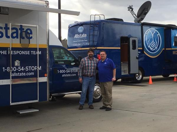 Thomas McCaffrey - The folks from our Allstate Catastrophe Team are doing a great job showing our clients that they are in Good Hands!!