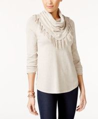 Image of Style & Co Cowl-Neck Sweater, Created for Macy's