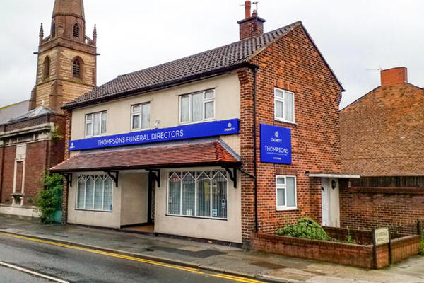 Thompsons Funeral Directors in Tuebrook, Liverpool.