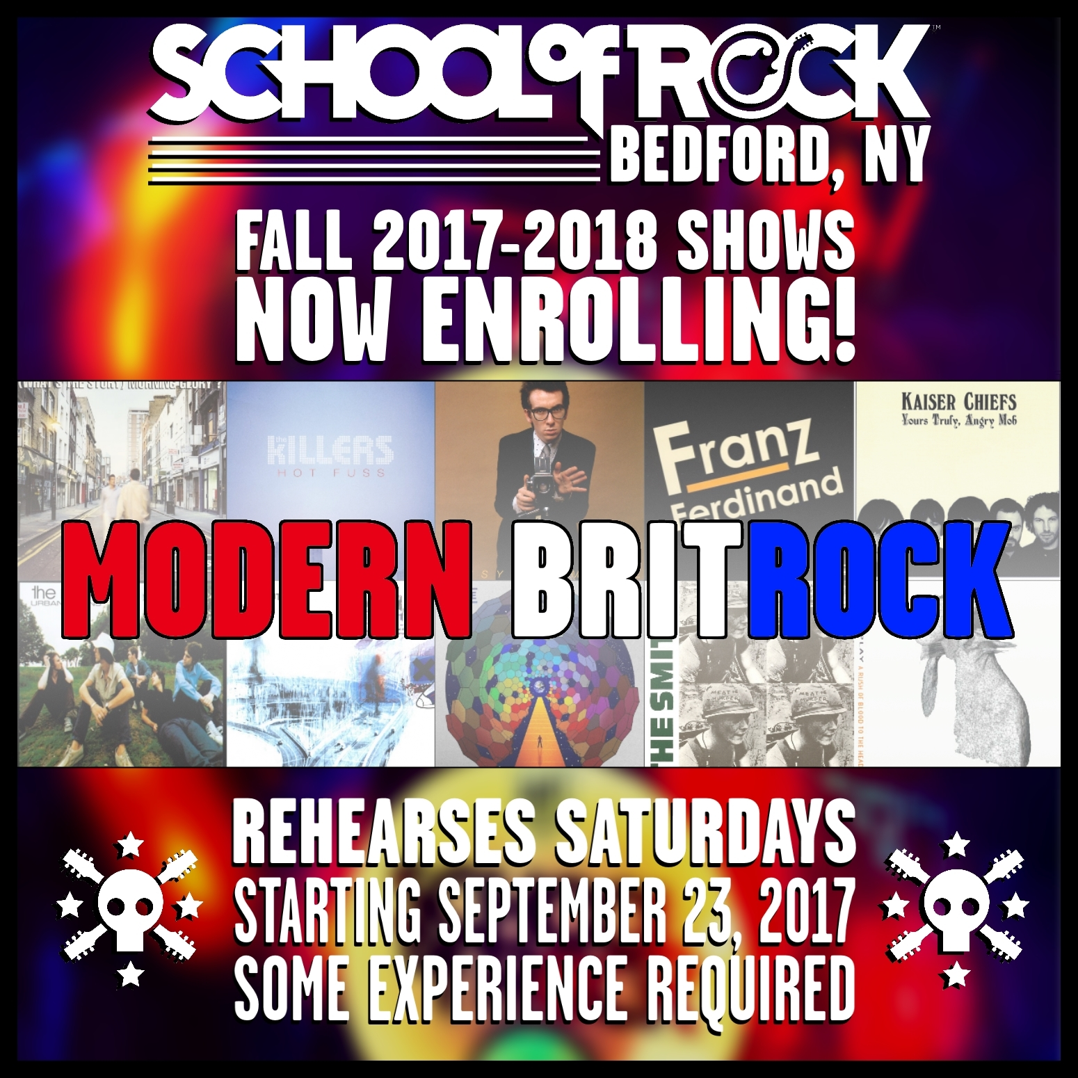 Image of FALL 2017-2018 SHOW #6: MODERN BRITROCK