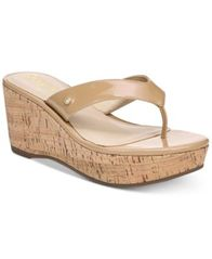 Image of Circus by Sam Edelman Raquel Cork Wedge Sandals