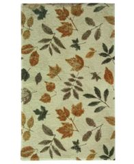 "Image of Bacova Rugs, Elegant Dimensions Fossil Leaf 28"" x 46"" Accent Rug"