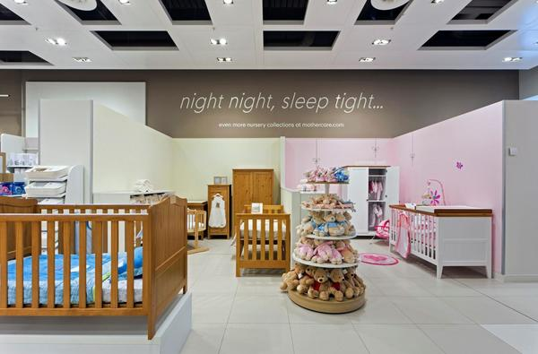 Mothercare Westfield stratford nursery furniture