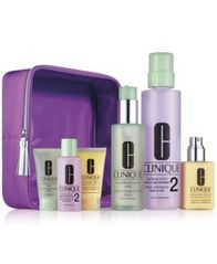 Image of Clinique 7-Pc. Great Skin Home & Away Set - For Drier Skin