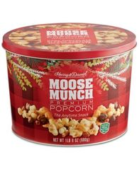 Image of Harry & David Moose Munch Gourmet Popcorn Tin
