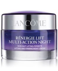 Image of Lancôme Rénergie Lift Multi-Action Lifting and Firming Night Moisturizer Cream, 2.6 oz
