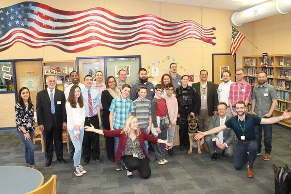 2018 Career Day at Holbein Middle School in Mount Holly, NJ