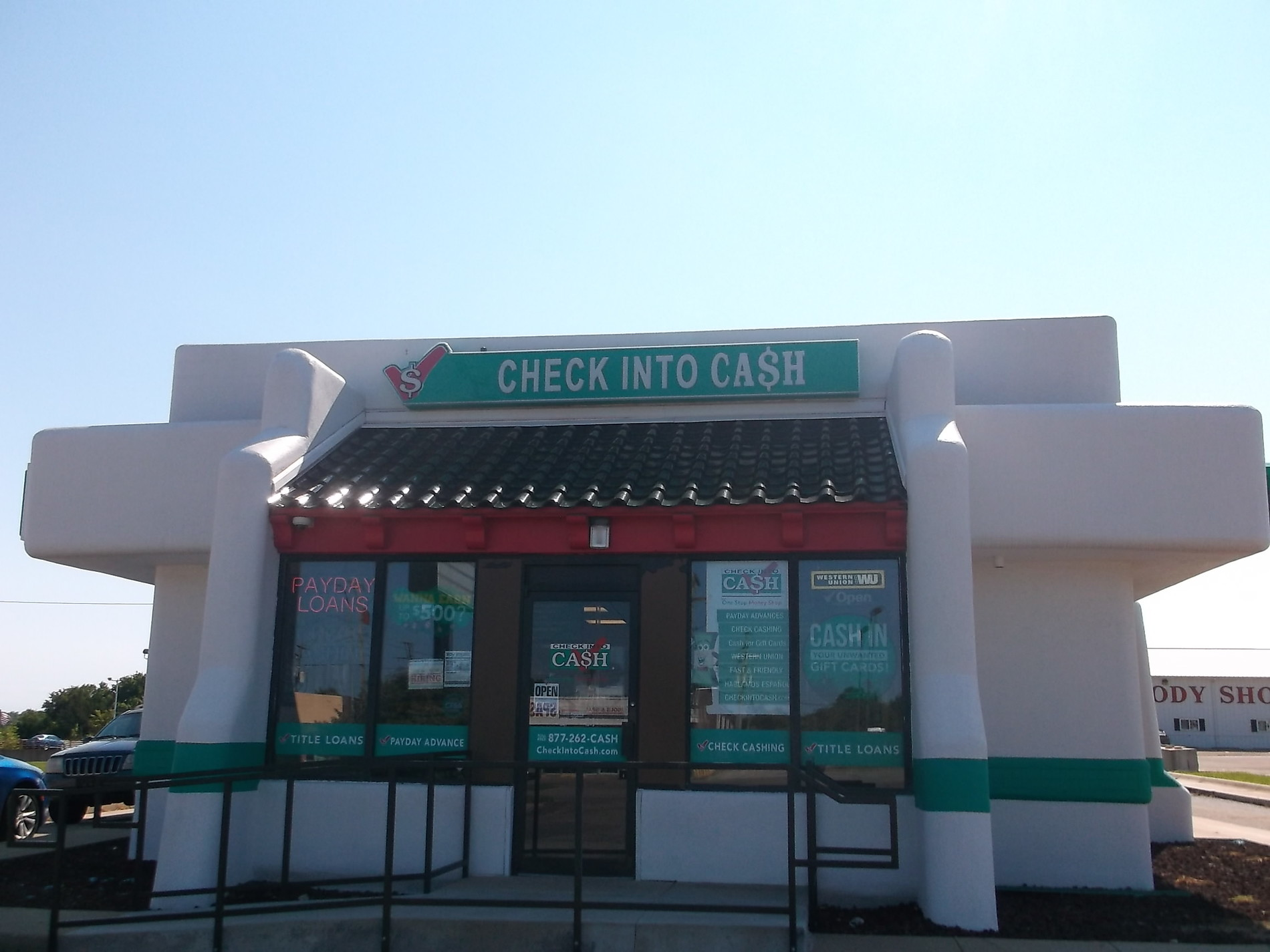 Stop by our Topeka Check Into Cash today, or call (785) 267-5488 for more  information. You can walk out with cash in your hand! All products not  available ...
