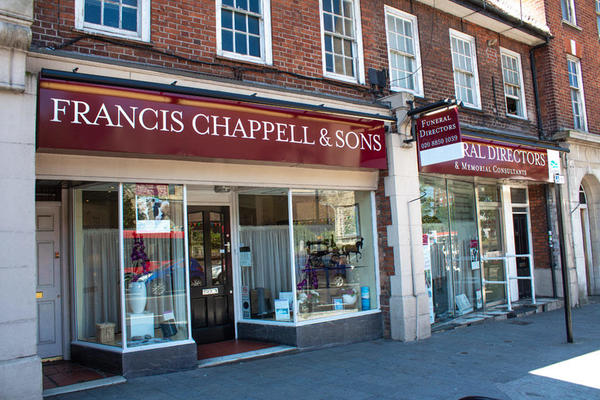 Francis Chappell & Sons Funeral Directors in Eltham