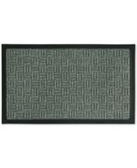 "Image of Bacova Textured Basketweave 18"" x 30"" Doormat"