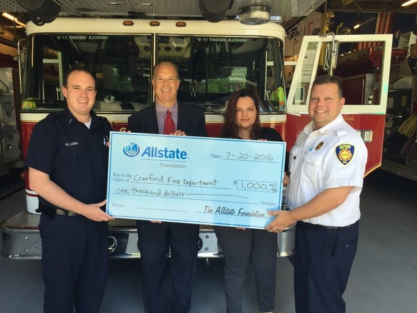 Ronald Murtha - Cranford Fire Department Receives $1,000 Grant from Allstate Foundation!