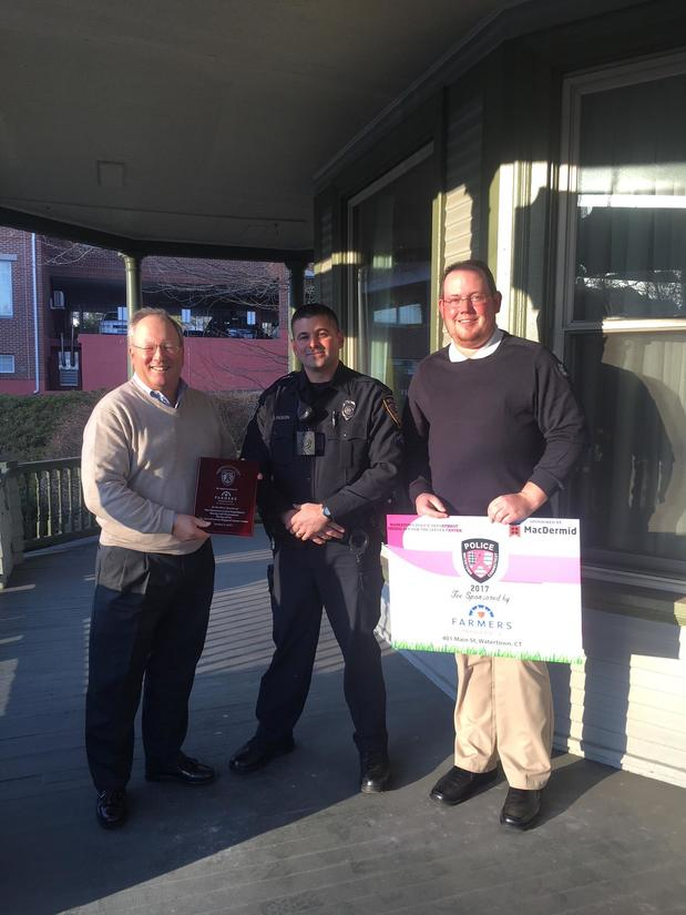 Calkins Insurance Agency Supporting Watertown Police Department's Charity Fundraiser