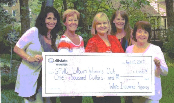 Daniel White - Allstate Foundation Helping Hands Grant for GFWC Lilburn Woman's Club
