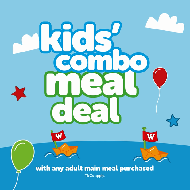 Image of Kids' Combo Meal Deal