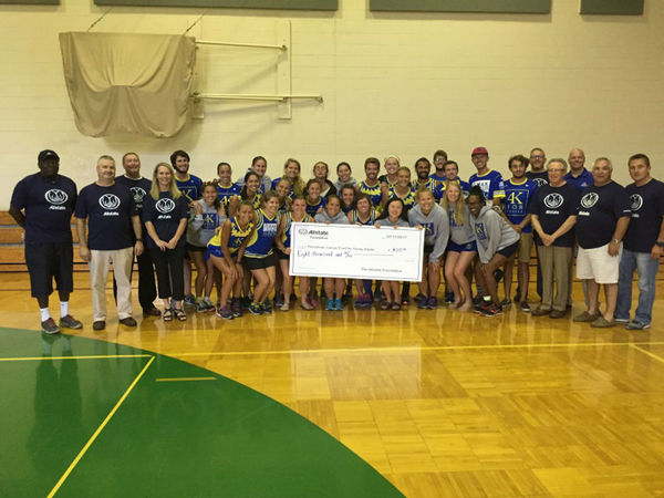 Bob Meyer - Allstate Foundation Grant for Ulman Cancer Fund for Young Adults