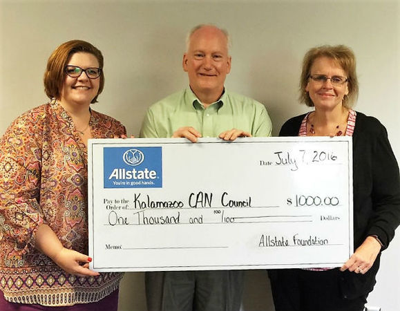 Darryl Rauhoff - KCAN Receives $1K Grant from Allstate Foundation