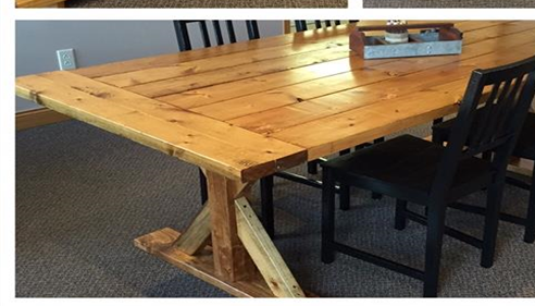 Handcrafted Conference Table