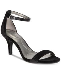 Image of Bandolino Madia Velvet Dress Sandals