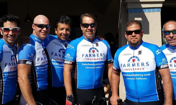 Team Farmers Group Ride in Huntington Beach