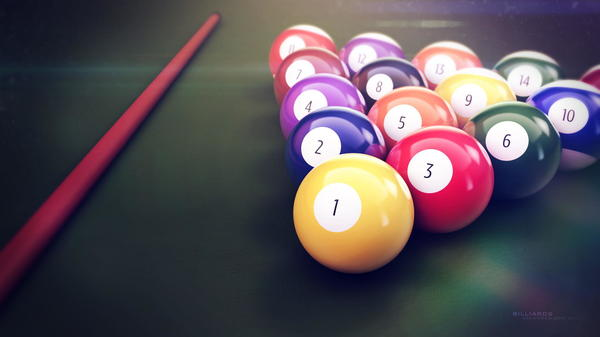When it's time to relax, I enjoy shooting pool.