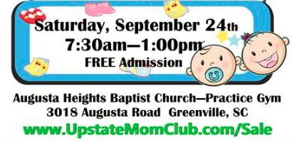 Jeremy Ford - Upstate Moms Semi-Annual Consignment Sale
