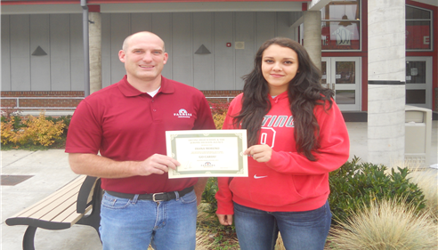 Diana Moreno, OHS Student Athlete of the Week Volleyball