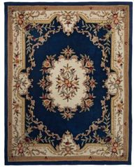 Image of CLOSEOUT! KM Home Majesty Aubusson 4' x 6' Area Rug, Created for Macy's