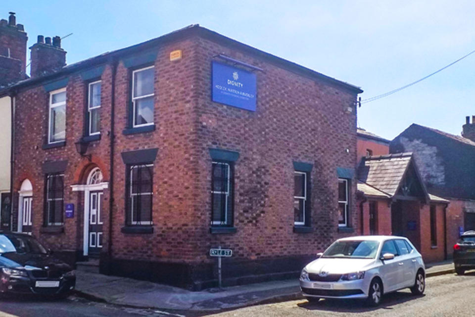 Hooley, Watson & Buckley Funeral Directors in Macclesfield, Cheshire.